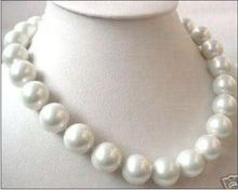 Eternal wedding Women Gift word 925 Sterling silver real natural big Top Huge1816mm south sea genuine w