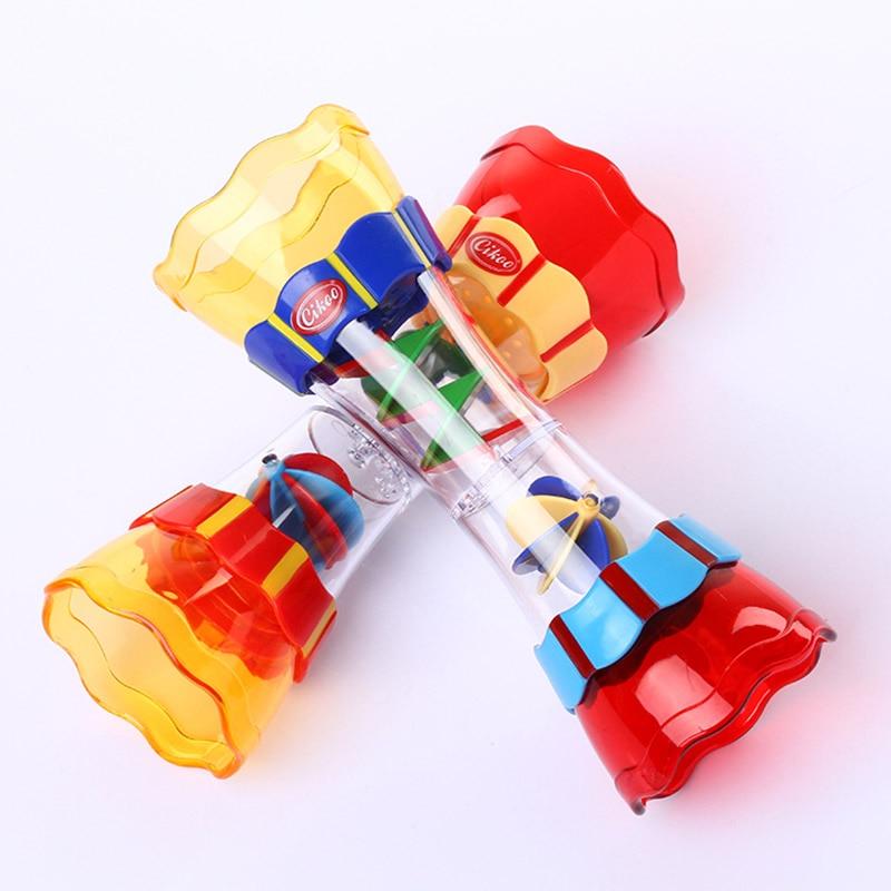 Cikoo children bathroom bathing toys water leak column baby swivel water cup kaleidoscope toys FJ88