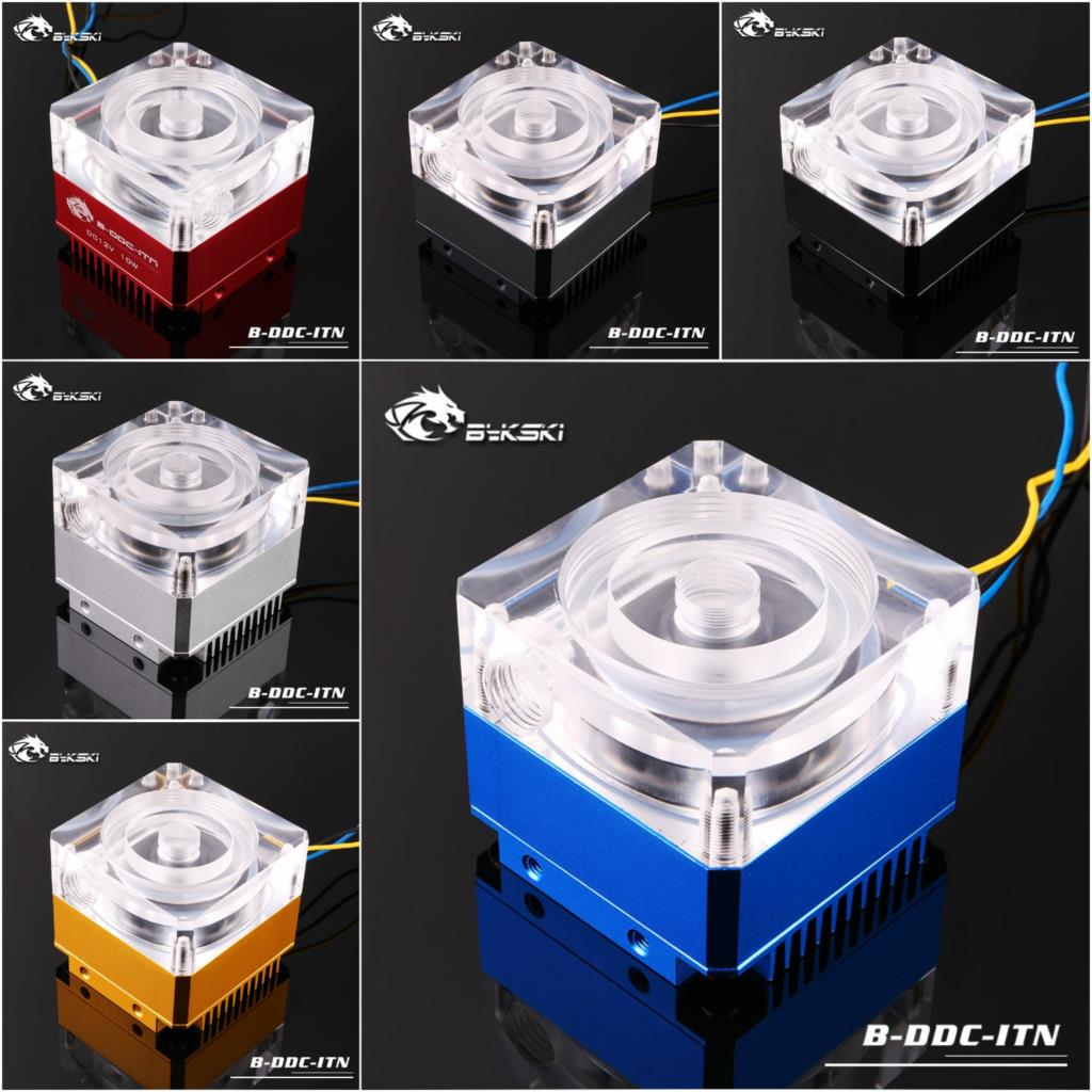 Bykski B-DDC-ITN Laing DDC3.2 Pump with Heatsink and Extendable Acrylic Top