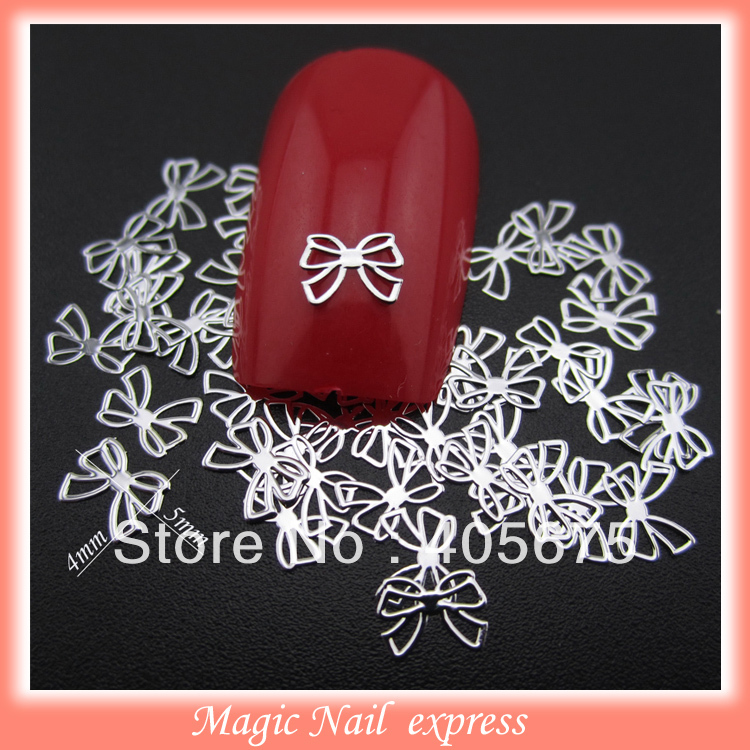1000pcs/pack bows silver metaillic nail art studs for nails decoration DIY slices rhinestone e cap aluminum 16v 22 2200uf electrolytic capacitors pack for diy project white 9 x 10 pcs
