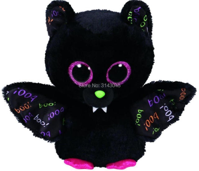 15cm Ty Beanie Boos Dart the Bat Collection Big Eyes 6