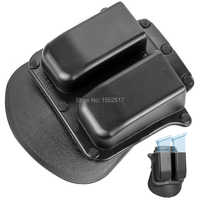 New Holster 6900 Paddle Style Double Magazine Pouch For Glock 9mm .40 Cal Mags