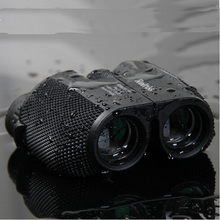 цены Free shipping 10X25 HD All-optical green film waterproof binoculars telescope for travel binoculars with bak4 prism drop selling