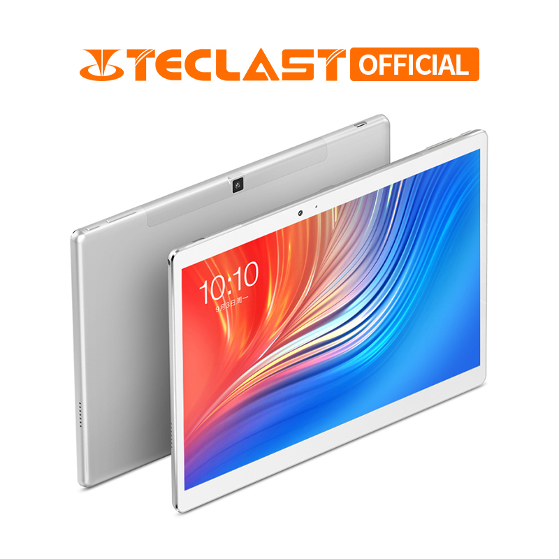 10.1 Inch 2560*1600 Teclast T20 Tablet PC 4G Phone Call MT6797 Helio X27 Deca Core Android 7.0 4GB RAM 64GB ROM 8100mah 13MP