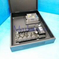 TCP/IP 4 двери контроля доступа панель контроля доступа доска С3 400 дверь система контроля доступа + PSM030B Блок Питания и коробка
