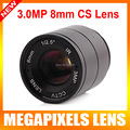 IR 1/2.5 Inch 3MP F1.4 8mm Fixed CS Mount Mega Lens 1080P HD CCTV Lens For IP HDCVI SDI Camera  IP Camera