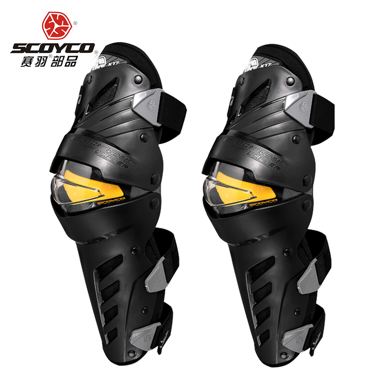 SCOYCO moto protection genouillère coude garde pour hommes protection Sport garde Motocross protecteur Gear Motocicleta joelheiras
