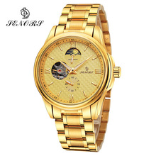 SENORS Mechanical Automatic Watches Skeleton Watch Men Male Clock Top Brand Luxury Wristwatch Fashion Montre Homme