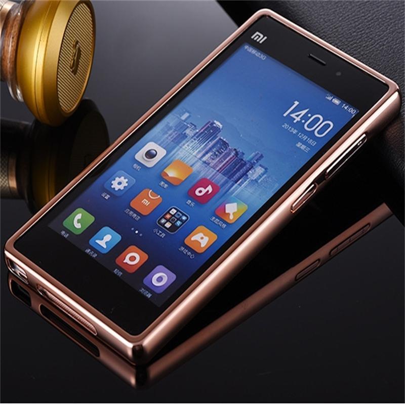 Xinchentech para Xiaomi Mi3 Funda de lujo espejo de metal + acrílico - Accesorios y repuestos para celulares - foto 5