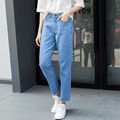 Boyfriend Jeans Women 2016 Hot Sale Loose Baggy Jeans Ripped Denim Harem Trendy Casual  Pants Woman Jeans Maoku Foot Plus Size