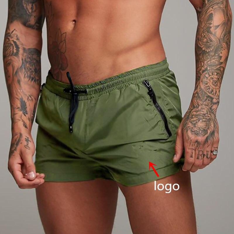 2019  Men Gyms Fitness Bodybuilding Shorts Mens Summer Casual Cool Short Pants Male Jogger Workout Beach Breechcloth Bottoms