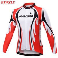 OTWZLS Cycling Jerseys 2017 Men Long Sleeve Spring Autumn Breathable Quick Dry DH Jersey MTB Bike