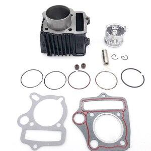 Image 2 - Cylindre Piston Kit De Joints Pour HONDA ATC70 CT70 C70 TRX70 CRF70 CRF70F DAX70 ST70 XR70 70CC 72CM3