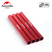 Naturehike 4pcs/lot Aluminum Tent Pole Set Camping Rod Repair Packsuitable for the diameter 8.5mm NH15A002-W