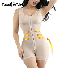 FeelinGirl Fajas Colombianas Reductora Full Body Shapers Afslanken Shaperwear Overbust Postpartum Herstel Bodysuit Taille Shapers
