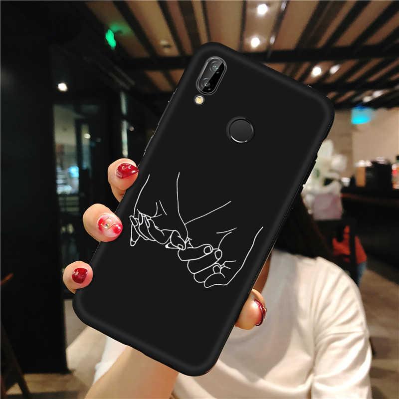 Caso fosco Para O Caso Huawei Honra 8X Max 8C Nota 10 9 8 Lite 7 X 10i 20i 8 S Vista 20 padrão TPU Capa Para Casos de Telefone Honra 8X Max 8C