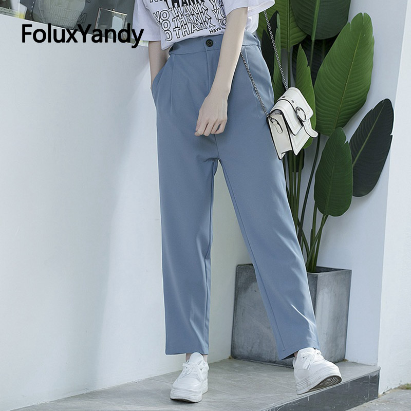 Harem Pants Women Trousers Plus Size Casual New Loose Ankle length Pants 3 Colors SWM1354 in Pants amp Capris from Women 39 s Clothing