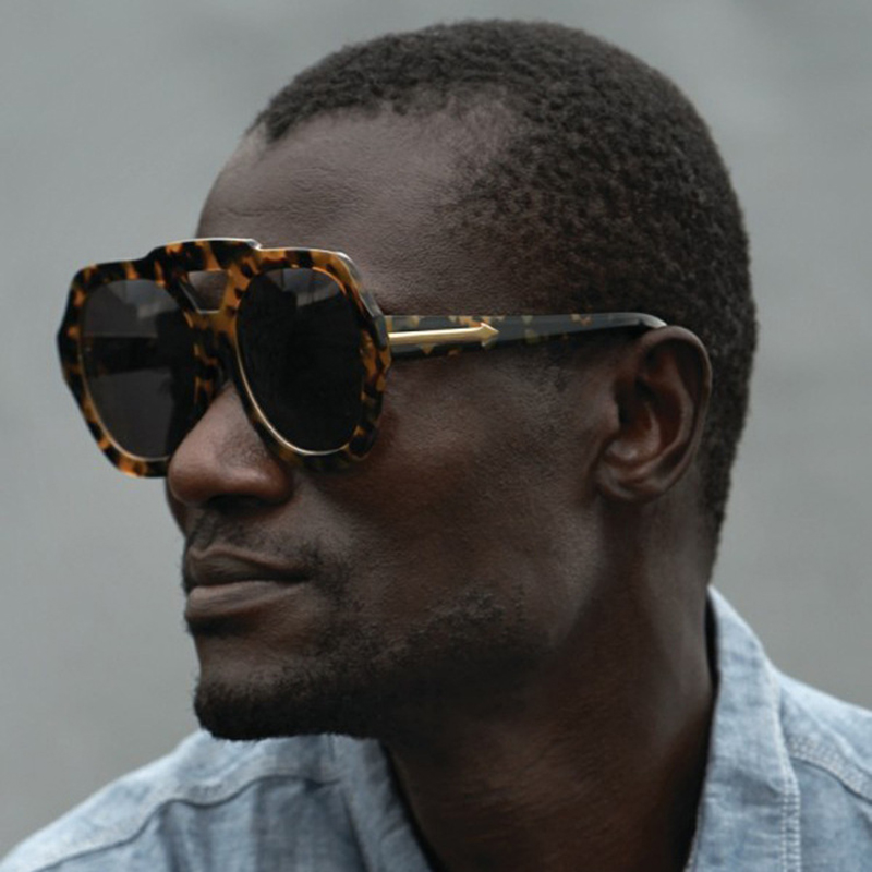 JackJad 2017 New Fashion Oversized Frame Metal Arrow Gradient Sunglasses Women Men Brand Design UV400 Sun Glasses Oculos De Sol