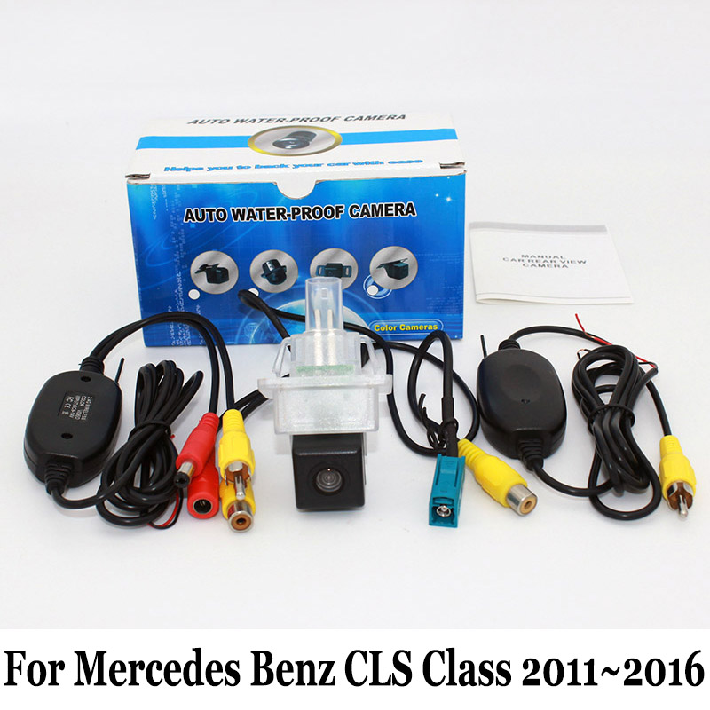 Car Rear View Camera For Mercedes Benz CLS Class W218 2011~2016 / RCA Wired Or Wireless HD Wide Lens Angle Night Vision Cameras