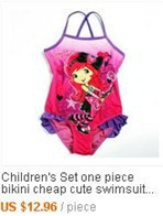 659bff63387b3 girls 2 10y swimsuit back hole cute bathing suits trunk Children's ...