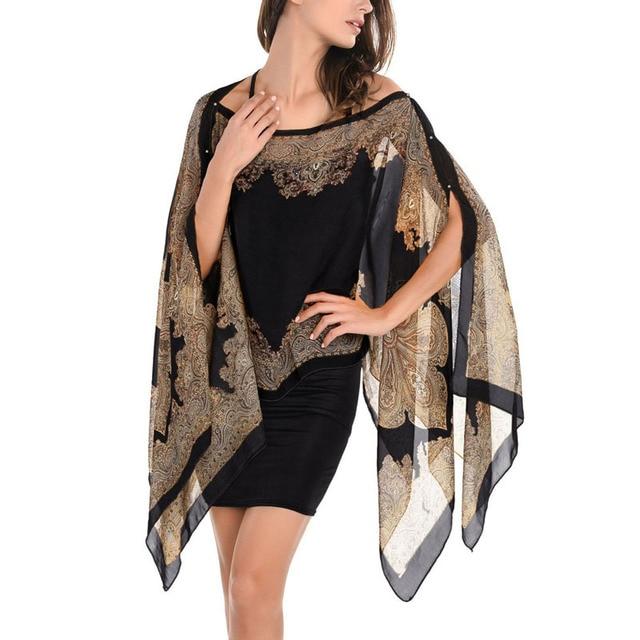 Chal de gasa para mujer ropa de playa primavera Nuevo 2017 bufanda de seda para  mujer 6a907258aee