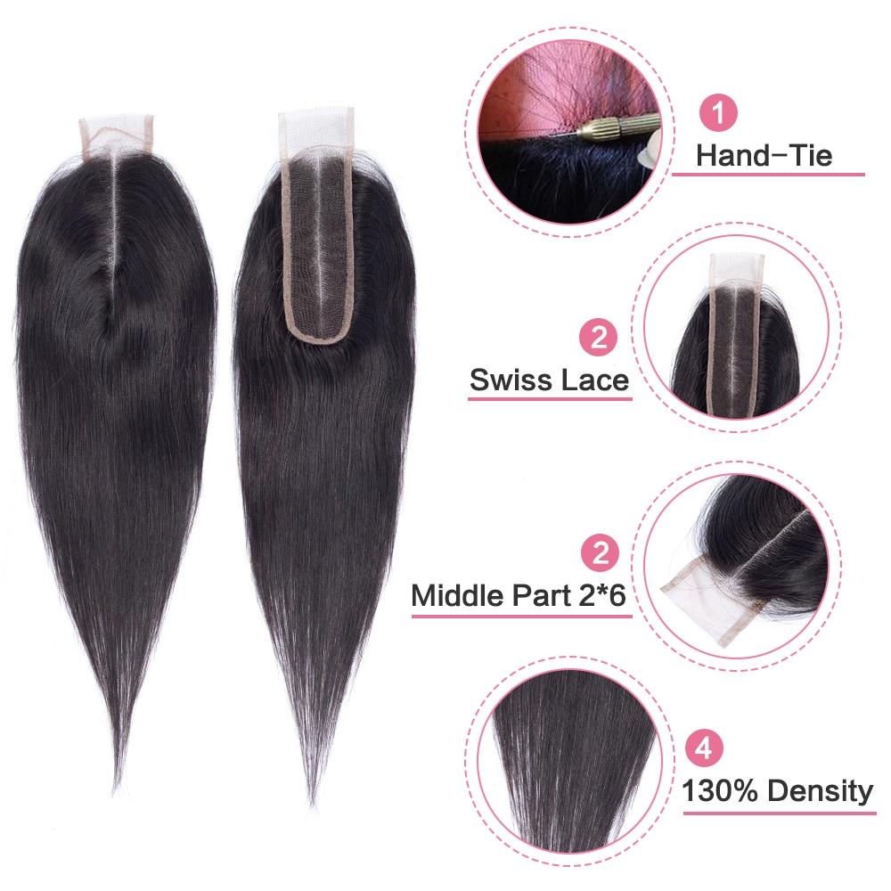Amanda Kim K Closure Middle Part Straight Hair Lace Closure 4x4 5x5 Straight  Melt Skins Hd Transparent Lace Closure 2