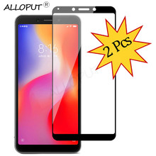 2-Pack Premium Glass Redmi 6A Screen Protector Tempered Xiaomi 6 Protection Gift Bookmark