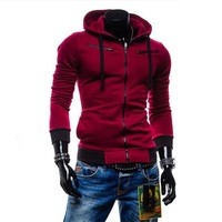 Assassins Creed Hoodies Erkekler Erkek Hoodie Kazak Kapüşonlu Ince Uzun Kollu Polar Fermuar Ceket Ceket Spor 4XL eşofman