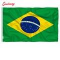 90x60 см, бразильский флаг, национальный флаг, украшение для дома, цвет бразильский флаг NN010