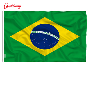 90 x 60cm Brazil Brazilian Flag national flags Home Decoration Brasil FLAG Country Banner Indoor Outdoor NN010(China)