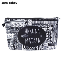 Jom Tokoy Fashion Brand Cosmetic Bags 2018 New Makeup Case  3D Printing Women Travel cosmetic organizer bag
