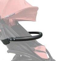 Yoyo Babyzen armrest Baby stroller accessory Stroller handrails baby carriage Leather handrail For Yoya Yuyu Babysing Chbaby