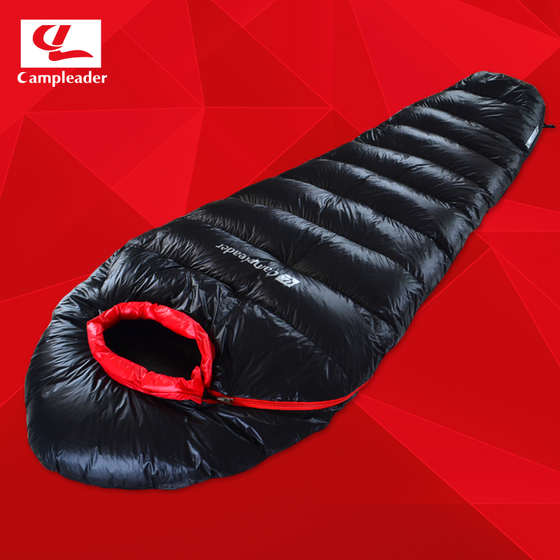 Campleader 95Goose Down Sleeping Bag 04 1KG Ultra Light High Quality 4 Season Adult Breathable Thickening Bags In Underwear From Mother Kids