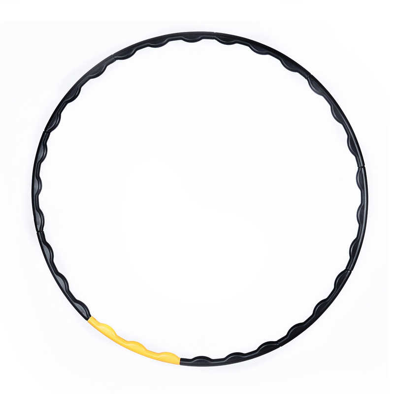 Ten Sections Detachable Massage Sport Hoop Adult Abdomen Exercise Body Workout Ring Circle Fitness Hoop Equipments Loose Weight