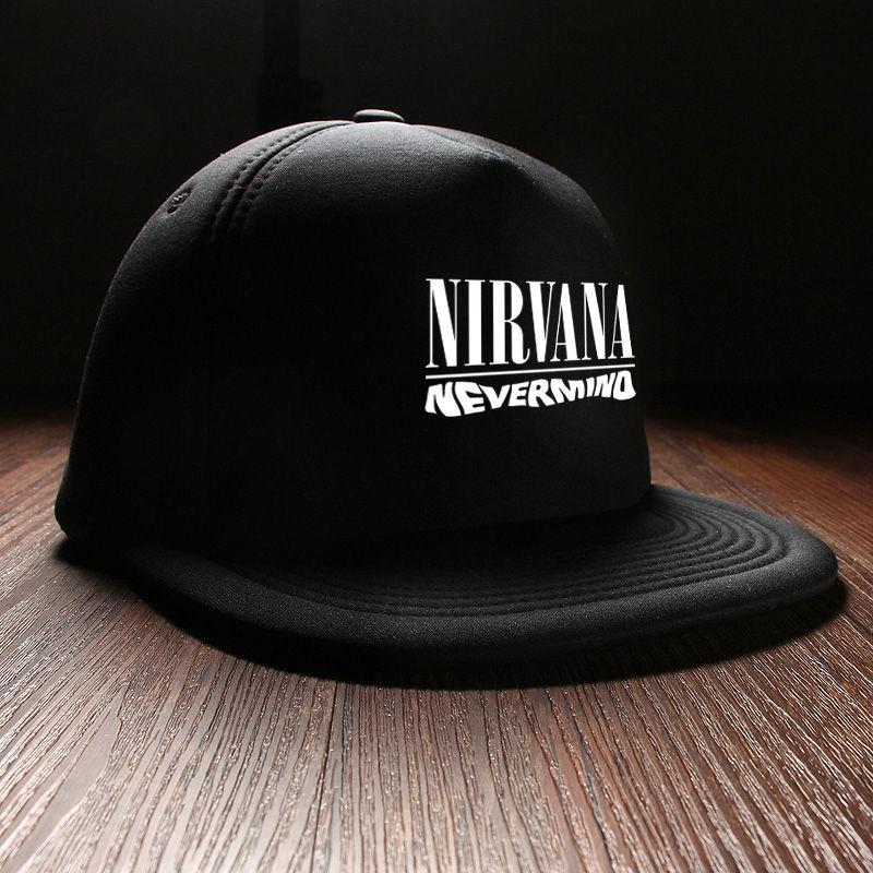 e46ccef9017 New 2017 Winter Hip Hop Fashion Nirvana Rock Band Mens Caps Brand ...