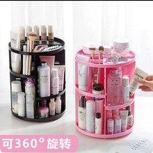 Desktop Rotating Cosmetics Accept Frame Plastic Accept Box R