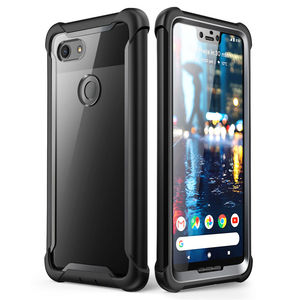 Image 1 - For Google Pixel 3 XL Case i Blason Ares Series Full Body Rugged Clear Bumper Case with Built in Screen Protector For Pixel 3XL