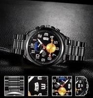 Luxury Brand Men Army Military Watches Men S Quartz Date Clock Man Leather Strap Sports Wrist