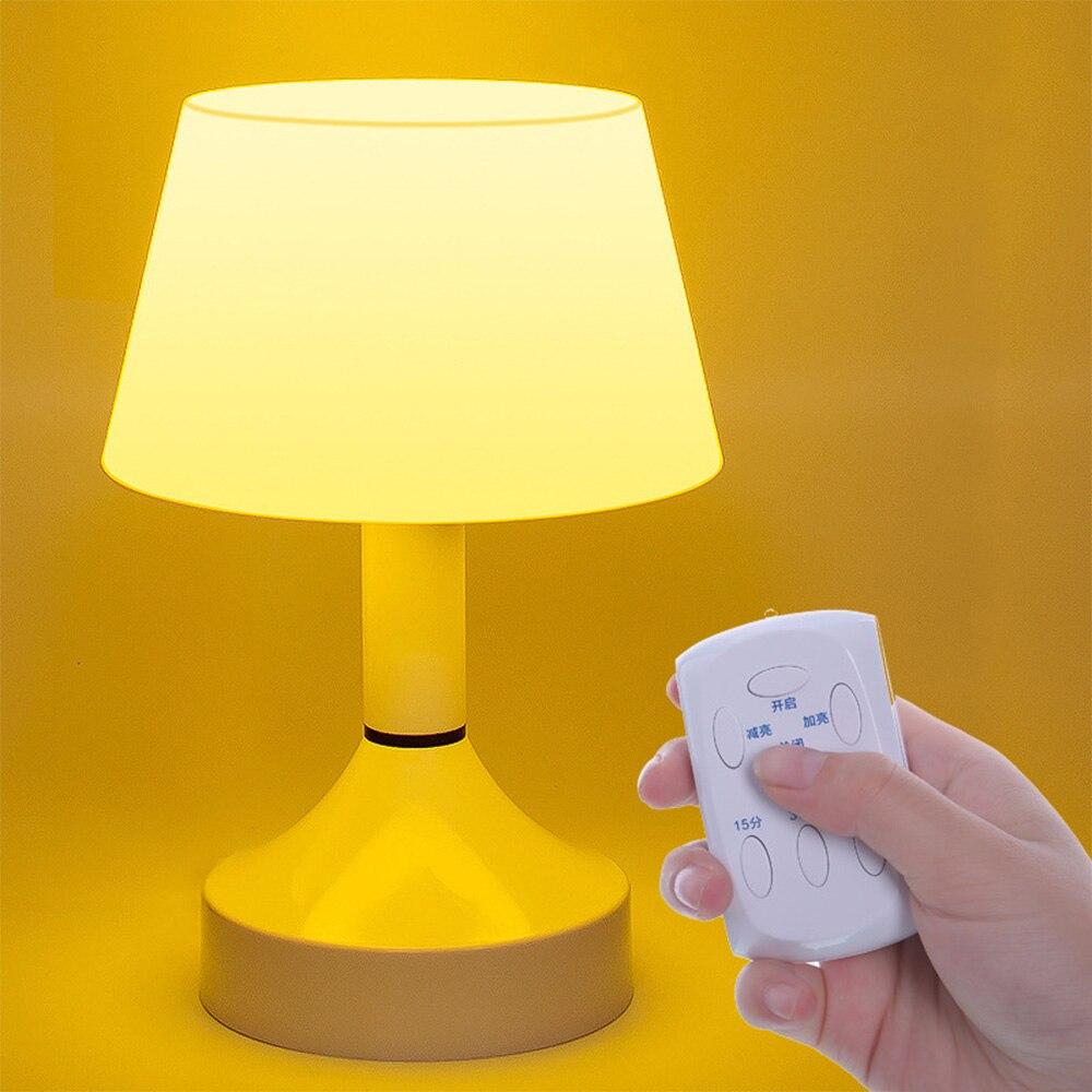 Свет в Ночь USB аккумуляторная дистанционного прикроватная лампа настольная лампа luminarias новинка ночник светодиодный Гриб лампа светодиодна...