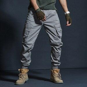 Image 5 - זרוק משלוח 2020 סתיו טקטי גברים של מכנסיים מטען מזדמן רב כיס צבאי מכנסיים ארוך מכנסיים 29 38 AXP127