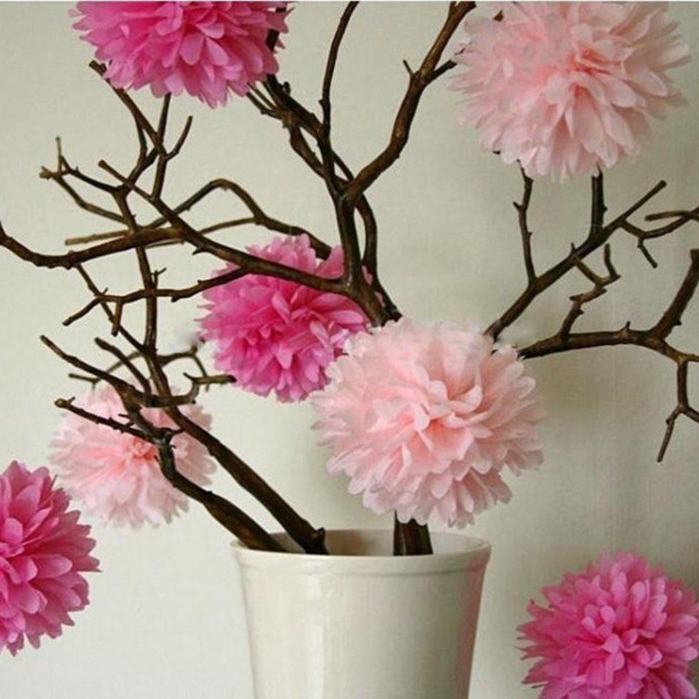 Aliexpress Buy 1pc 20cm Tissue Paper Pom Poms Flower Balls