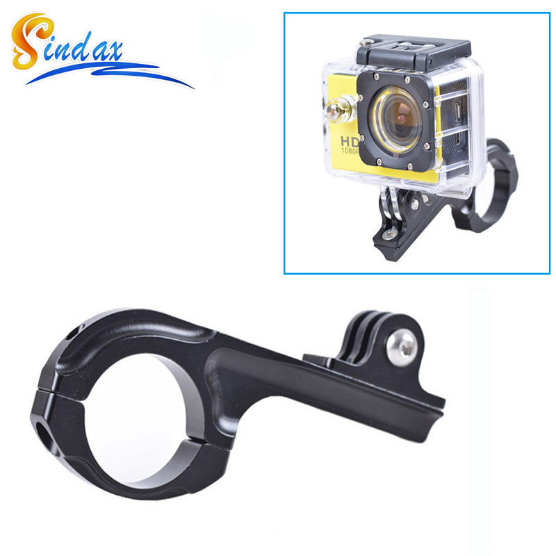 In tripods from consumer electronics on aliexpress com alibaba group - Sindax Kit For Gopro Handlebar Mount Bike Motorcycle