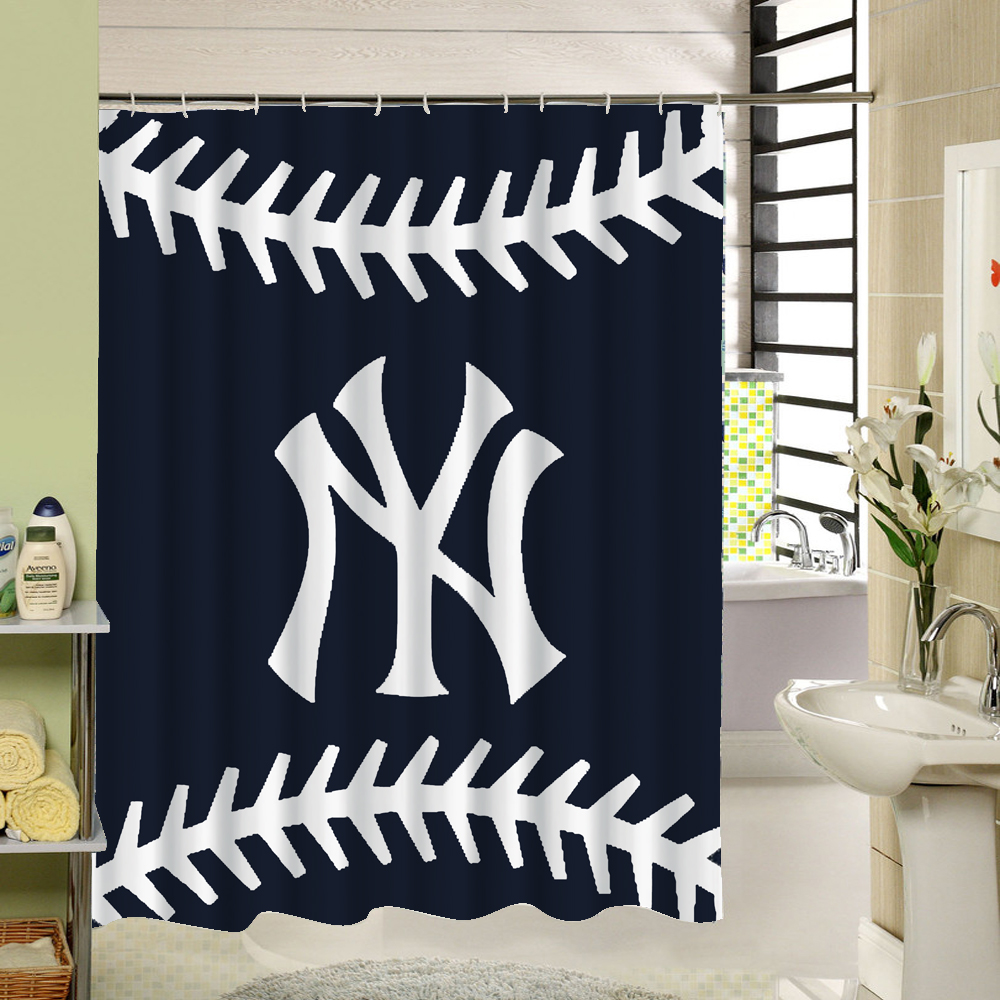 Waterproof Fabric Football Shower Curtain For Kids Who Love Exericise Home Bath Decor Shutter In Curtains From Garden On