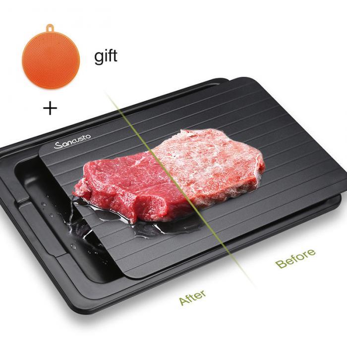 Plaque de décongélation de nourriture de dégivrage de viande congelée