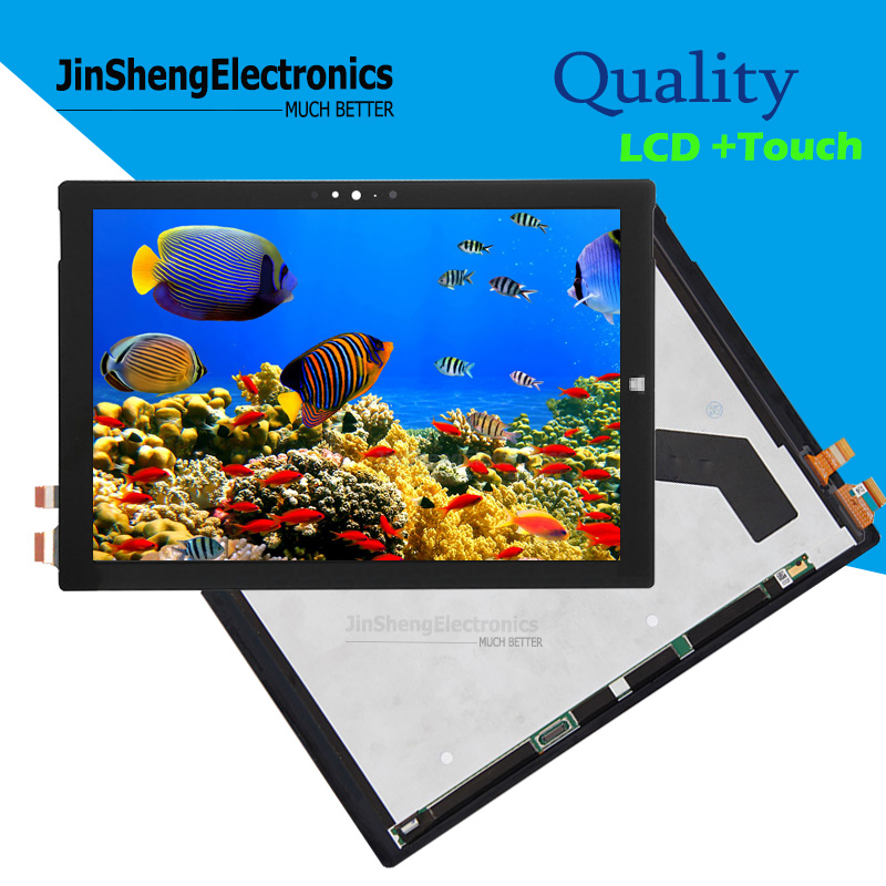 Touch Screen Assembly Selected Material Pro4 Original New 12.3  For Microsoft Surface Pro4 1724 Pro 4 Lcd Digitizer Display Glass Computer & Office