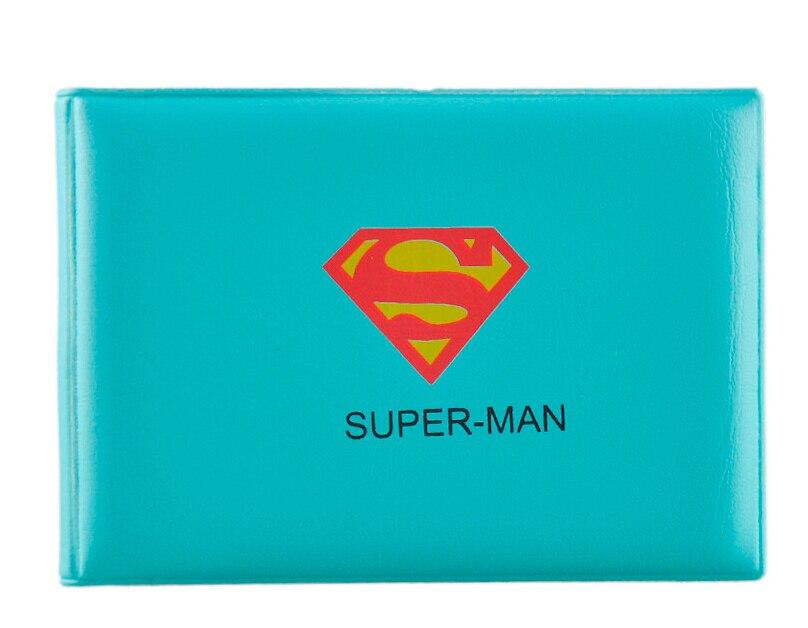 1 pc women men kids Novelty SuperHero Cartoon Credit Business Card ...