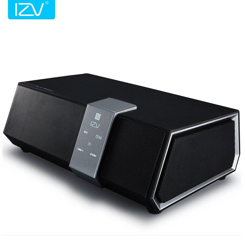 IZV 20W <font><b>Bluetooth</b></font> Speaker 20W High Power Desktop Wireless Subwoofer <font><b>HiFi</b></font> Bass DSP Stereo Amplifier 6600mah with <font><b>NFC</b></font> Phone Call