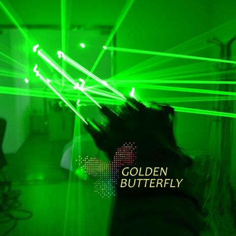 LED Прихватки для мангала Новинка 2017 года Прохладный высвечиваться лазерной Прихватки для мангала света Реквизит Костюмы LED робот Прихватки