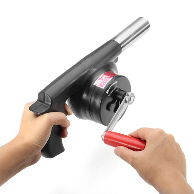 Hand Fan Barbecue Blower Outdoor Camping BBQ Barbecue Tool Fan/Blower Barbecue aanmaker 2