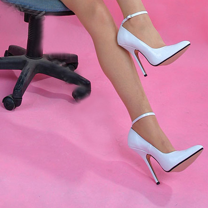 Aliexpress.com : Buy Wire 14cm stiletto heels fashion sexy white ...